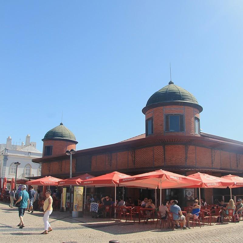 Visita aos mercados de Olhão