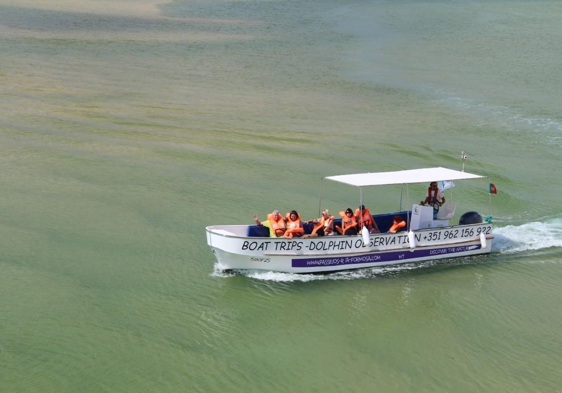 Passeios de barco Fuzeta