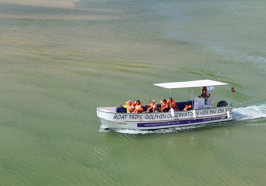 Passeio de barco à Praia da Barra Nova